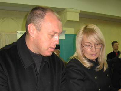 Александр Мамай с супругой Людмилой