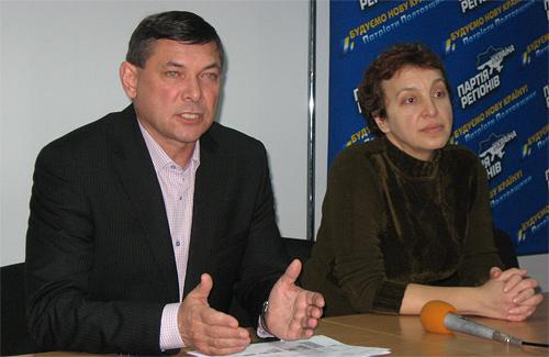 Іван Момот та Тетяна Устименко