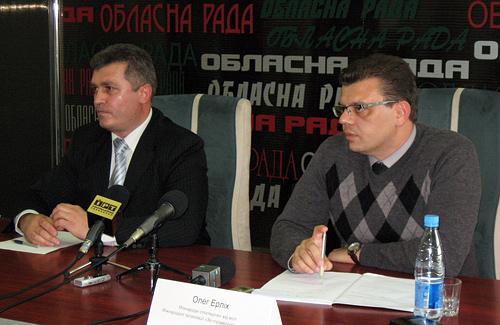 Олег Шахрай и Олег Эрлих