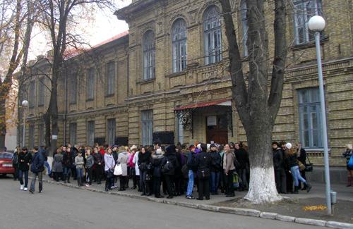 Студентів ПНПУ не пустили на навчання