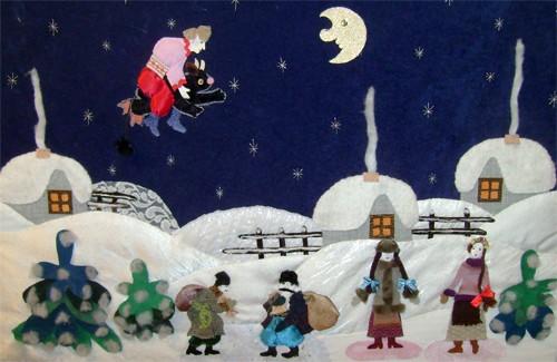 Новий рік – тематика виставки «Зимовий вернісаж»