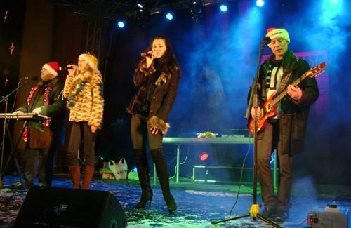 Новогодний концерт на Театральной площади