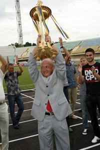Николай Павлов с Кубком Украины