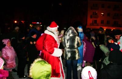 Детский праздник на Театральной площади в Полтаве