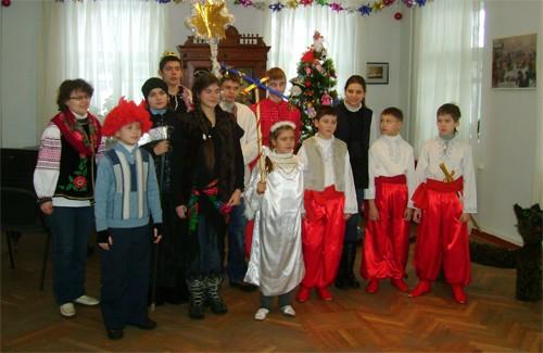 Діти зі школи Паросток