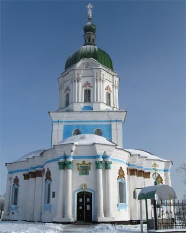 Троицкая церковь,  которую по преданию разрисовал Вакула