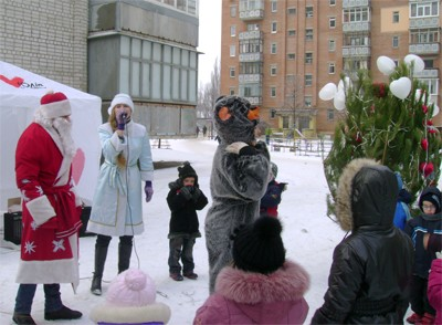 Бютовські Дід Мороз та Снігуронька