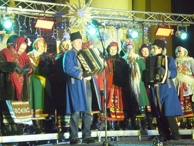 Святкування Різдва на Театральній площі