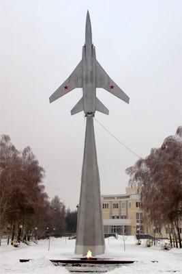 Памятник в честь 51-го бомбардировочного полка авиации дального действия