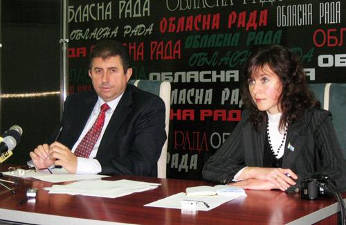 Олександр Удовіченко та Тетяна Сепіта