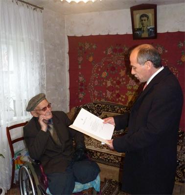 Михайлу Сергійовичу Зятікову на днях виповнилося 100 років