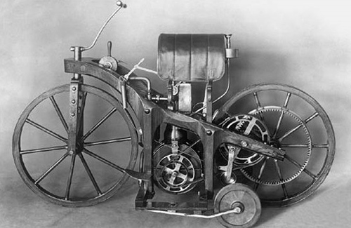 Первый в мире мотоцикл
