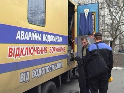 Робітники «Полтававодоканалу» в Миргороді