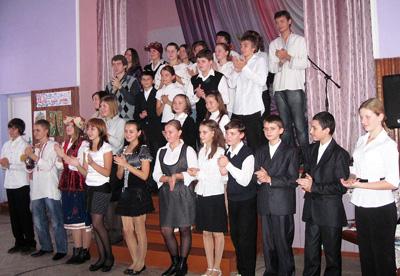 Учні школи-гімназії №9