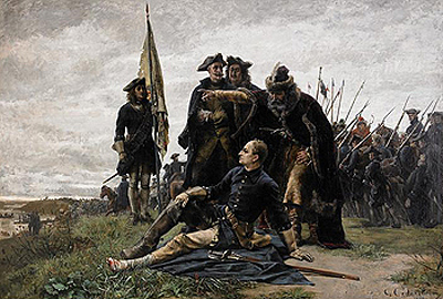 Картина Седерстрема «Карл XII і Мазепа»