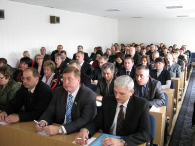 Перша прес-конференція новообраного міського голови Лубен Олександра Грицаєнка