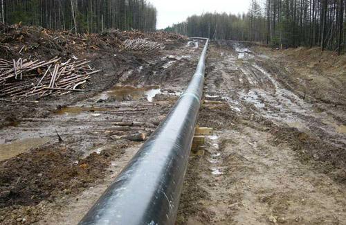 На Полтавщине случилась разгерметизация нефтепровода