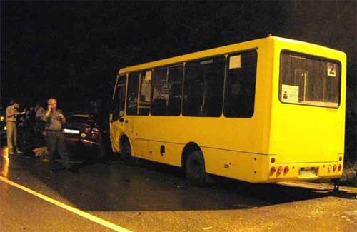 Большинство ДТП при участии автобусов проиходят именно в ночное время
