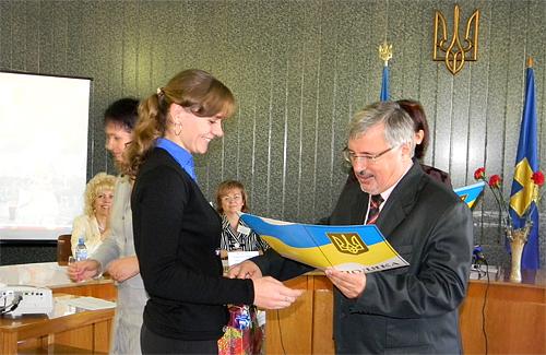 Вітання від заступника губернатора Олександр Коваля