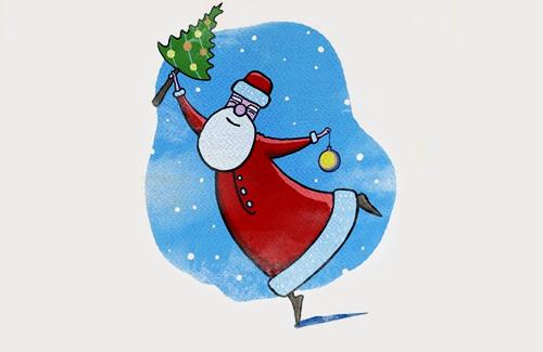 18 ноября официально празднуют день рождения Деда Мороза