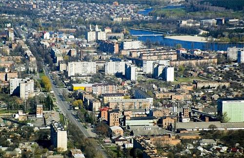 Миргород. Панорама міста