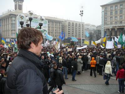 Мітинг в Києві