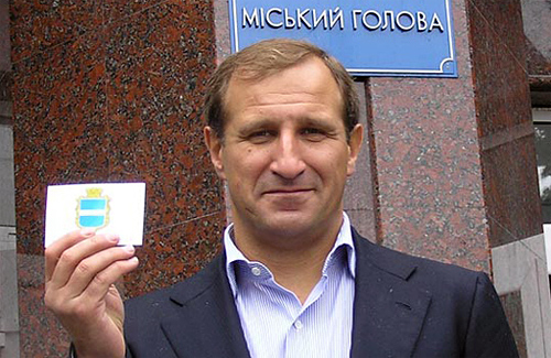 Мэр Кременчуга Олег Бабаев