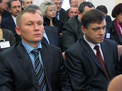 В'ячеслав Стеценко та Валентин Герасименко