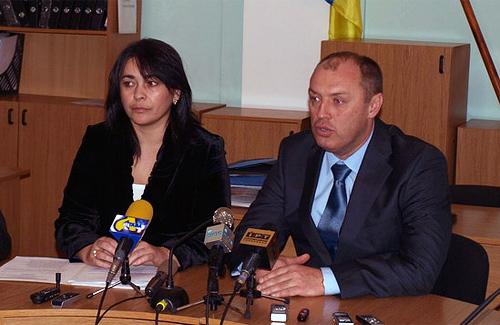 Оксана Деркач та Олександр Мамай