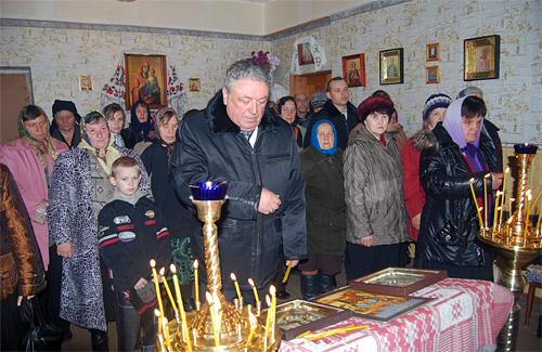 Жителі Вищого Булатця відзначали відкриття Михайлівської церкви