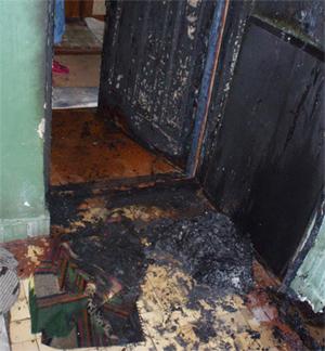 Поджигатель квартир снова в Полтаве