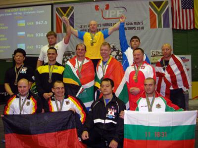 Призеры Чемпионата мира по пауэрлифтингу в ЮАР