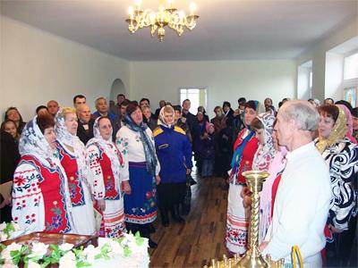 В селі Куликове під Полтавою було відкрито Свято-Вознесенський храм