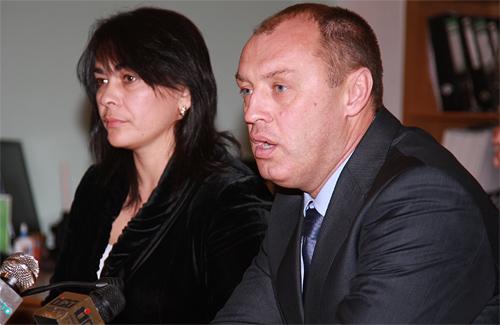Оксана Деркач і Олександр Мамай