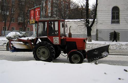 Полтава готова к снежной зиме