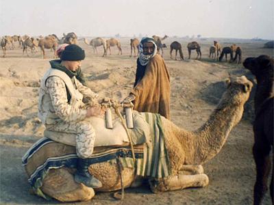 Валерій Кулик в Іраку