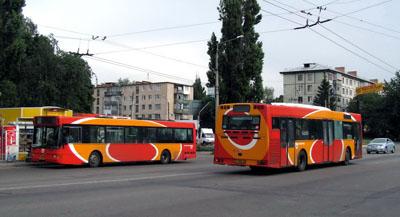 Низкопольные автобусы поставки 2009-2010 гг.
