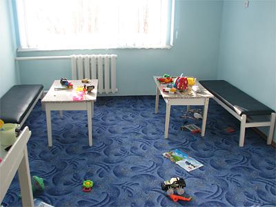 Ігрова кімната у відремонтованому відділенні
