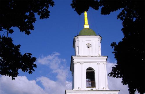Дзвіниця Успенського собору в Полтаві