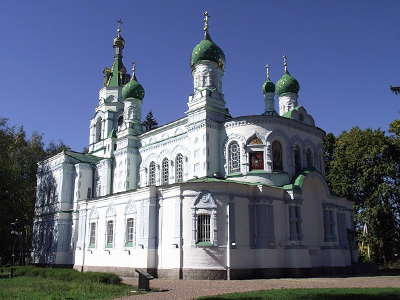 Храм в честь преподобного Сампсония Странноприимца Небесного