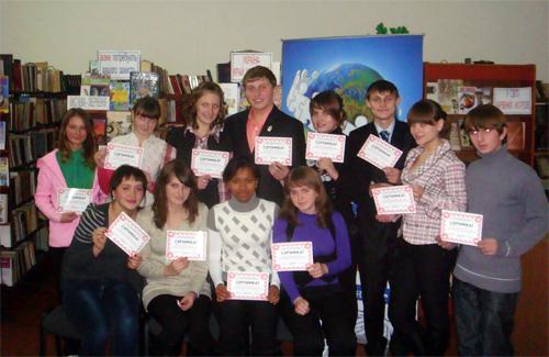 Учасники круглого столу «Ми — активні державотворці» в Пирятині
