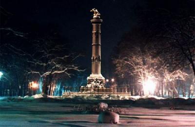 Зимняя Полтава