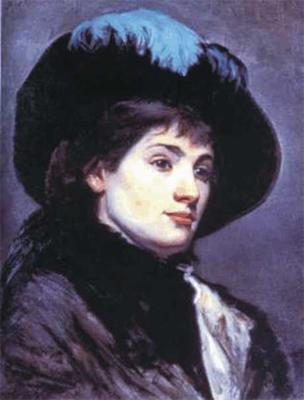 Марія Башкірцева. Автопортрет