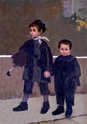 Картина Марії Башкирцевої «Жан і Жак»