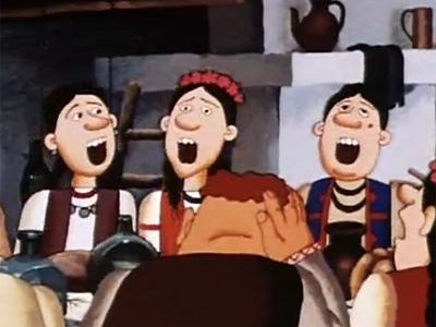 Кадр з мультфільму «Жив був пес»