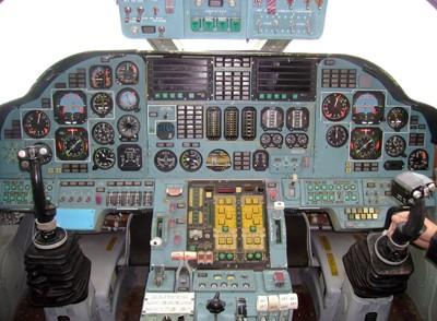 Кабина Ту-160