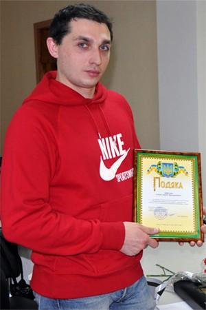 Правозахисник Олександр Микуця