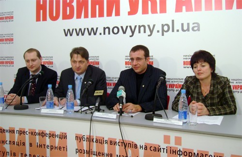 Сергій Монастирний, Олександр Русін, Антон Петько, Олена Ромас