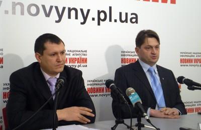 Олександр Дзюбенко та Олександр Русін