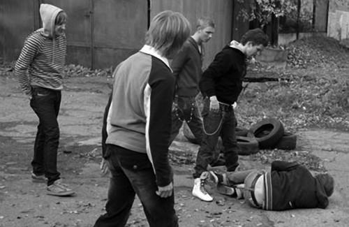 Кадр з фільму «Клас», 2007